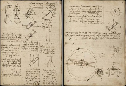 Da Vinci, Notes, Notebook