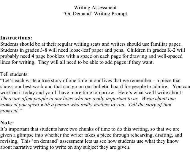 How to write c a s essay