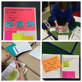@readwritemike makes demonstration notebook pages w/ colleagues